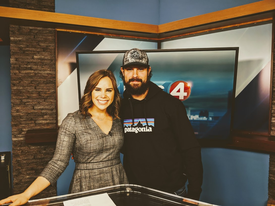 Zach Bogosian stopping by WIVB-TV for an interview