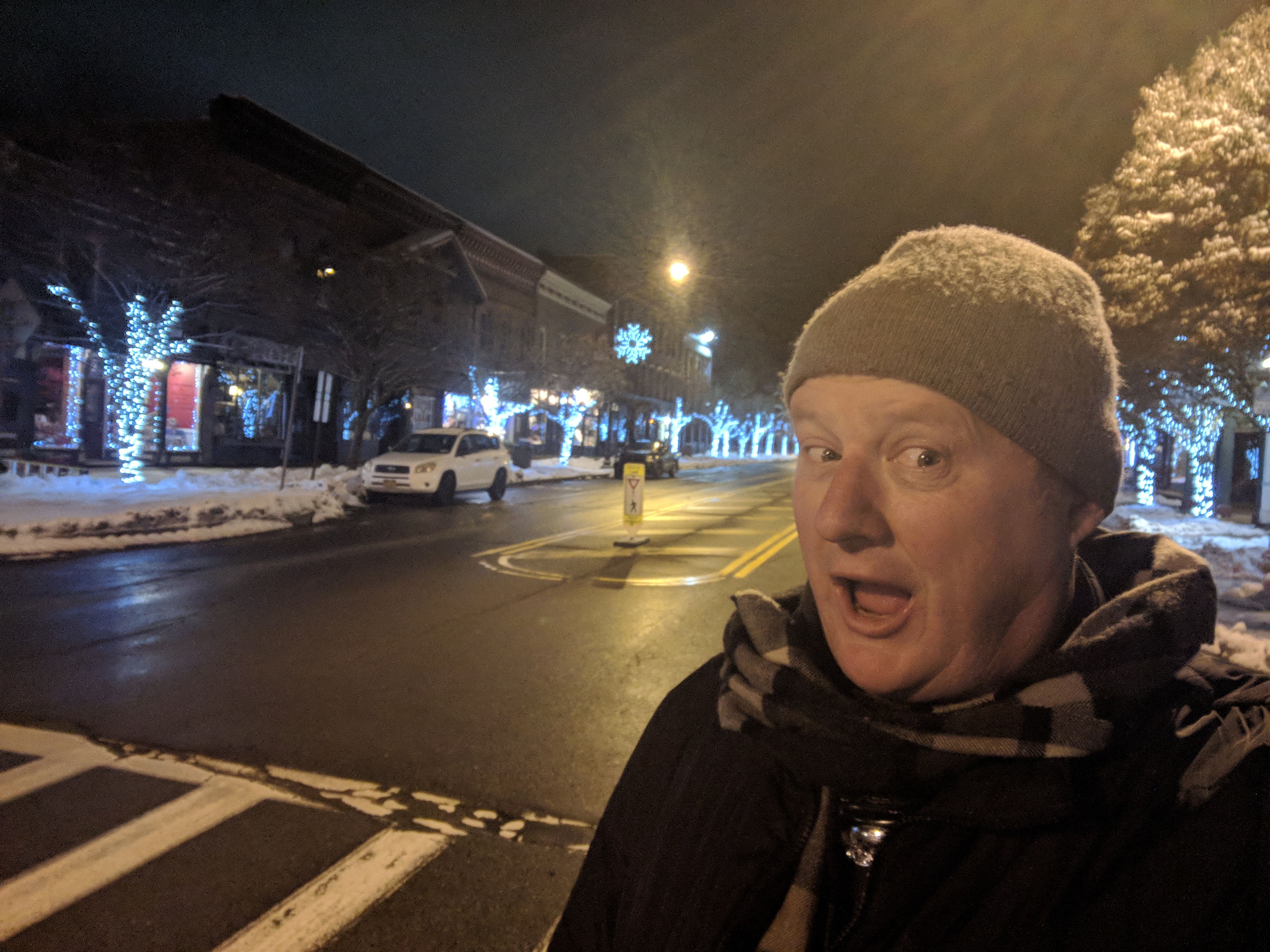 Photos: Holiday lights in Ellicottville, New York