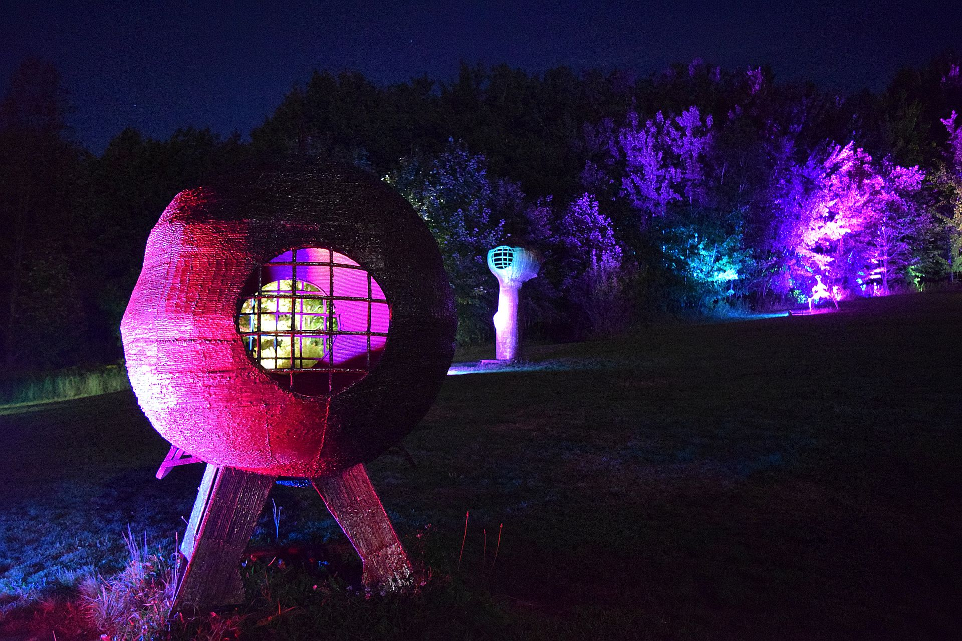 SitlerHQ produced NIGHT LIGHTS at Griffis Sculpture Park returns for 7th year