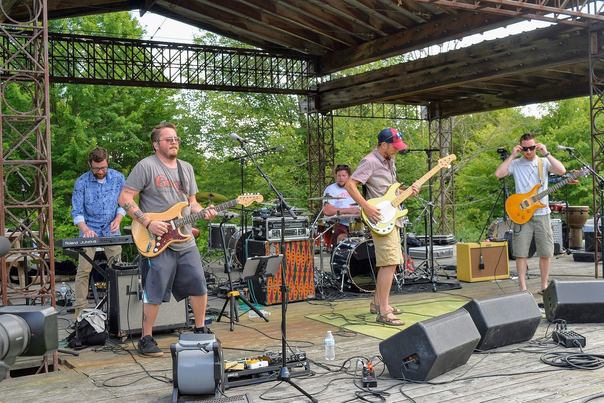 Photos from 7th Annual Griffis Sculpture Park Summer Festival
