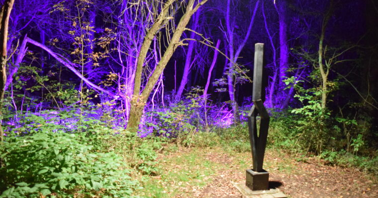 SitlerHQ's preview video of NIGHT LIGHTS at Griffis Sculpture Park